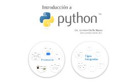 Introducción a Python - Presentación