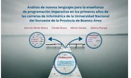 Cambio de lenguajes para Programación imperativa
