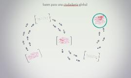 bases para una ciudadania global