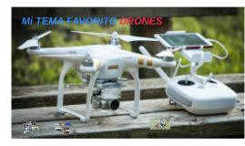 Mi tema drones