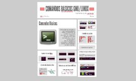 COMANDOS BASICOS UTILIZADOS EN EL SISTEMA OPERATIVO GNU/LINUX