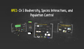 Buford APES Ch 5: Population Biology