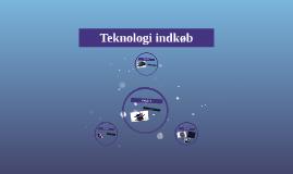 Teknologi indkøb