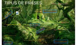 TIPUS DE FRASES