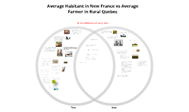 Average Habitant in New France vs Average Farmer in Rural Quebec