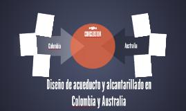Diseño de acueducto y alcantarillado en Colombia y Australia