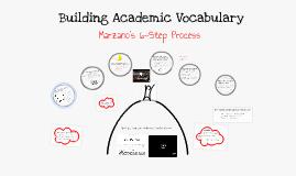 Copy of Building Academic Vocabulary