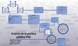 Copy of Análisis d la política pública PAE
