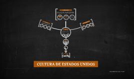 CULTURA DE ESTADOS UNIDOS