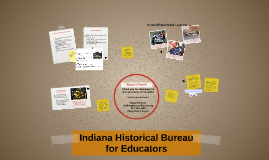 Indiana Historical Bureau for Educators