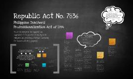 Copy of Copy of Republic Act No. 7836