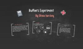 Buffon's Experiment