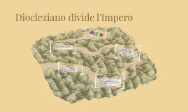 Diocleziano divide l'impero