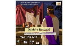 David y Betsabe