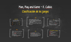 Man, Play and Game - R. Callois