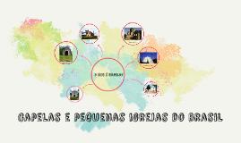 Capelas e pequenas igrejas do brasil