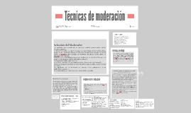 TÉCNICA DE EMODERACIÓN