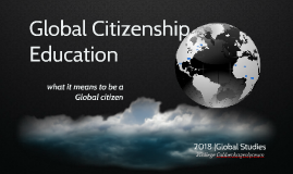 Copy of Global Citizenship Education