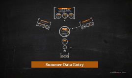 Copy of Summer Data Entry