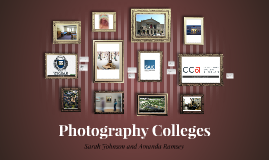 Photography Colleges