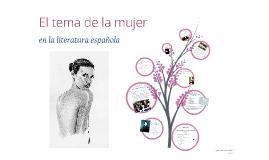 El tema de la mujer en la literatura española