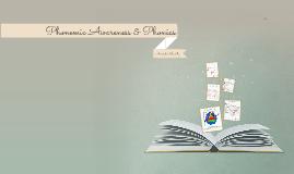 EDMU 520 - Phonemic Awareness/Phonics Presentation