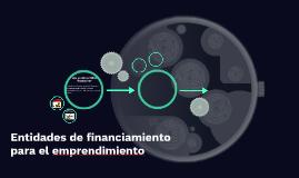 Entidades de financiamiento para el emprendimiento