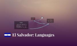 El Salvador: Languages