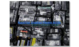 Baterias Usadas, plomo-acido