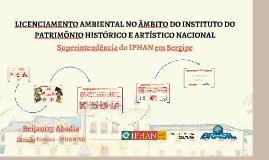 Licenciamento IPHAN