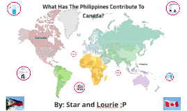 What has the Philippines Contributed to Canada?