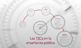Utilización de las TIC's en centros docentes públicos