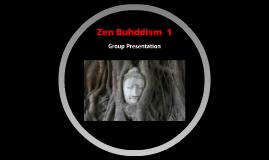 Zen Buhddism  1