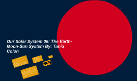 Our Solar System 06: The Earth-Moon-Sun System By: Tania Col