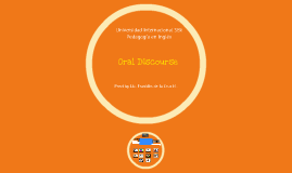 Oral discourse course