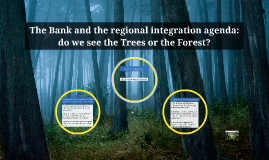 The Bank and Regional Integration in ASEAN