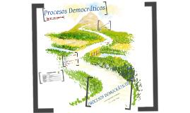 Procesos Democráticos TS 2016