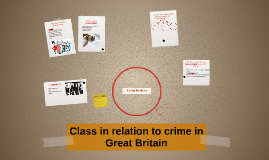 The relation between crime and socio-economic class Great Br