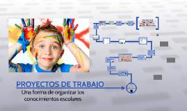 PROYECTOS DE TRABAJO