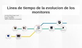 Linea de Tiempo de la Evolución del Monitor