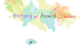 History of french fashion