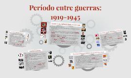 Período entre guerras: 1919-1945