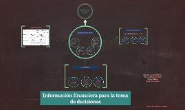 Información financiera para la toma de decisiones