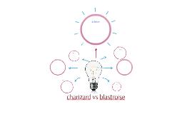 charizard vs blastroise