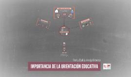 Copy of IMPORTANCIA DE LA ORIENTACIÓN EDUCATIVA