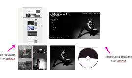 My Website and Digipak