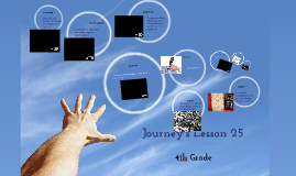 Journey's Lesson 25 4th Grade