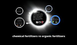 chemical fertilizers vs organic fertilizer