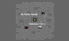 By Faith: Sarah