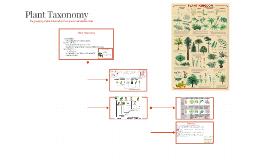 Plant Taxonomy